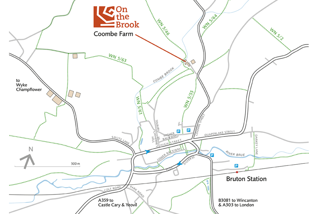 On the Brook - walkers map - News
