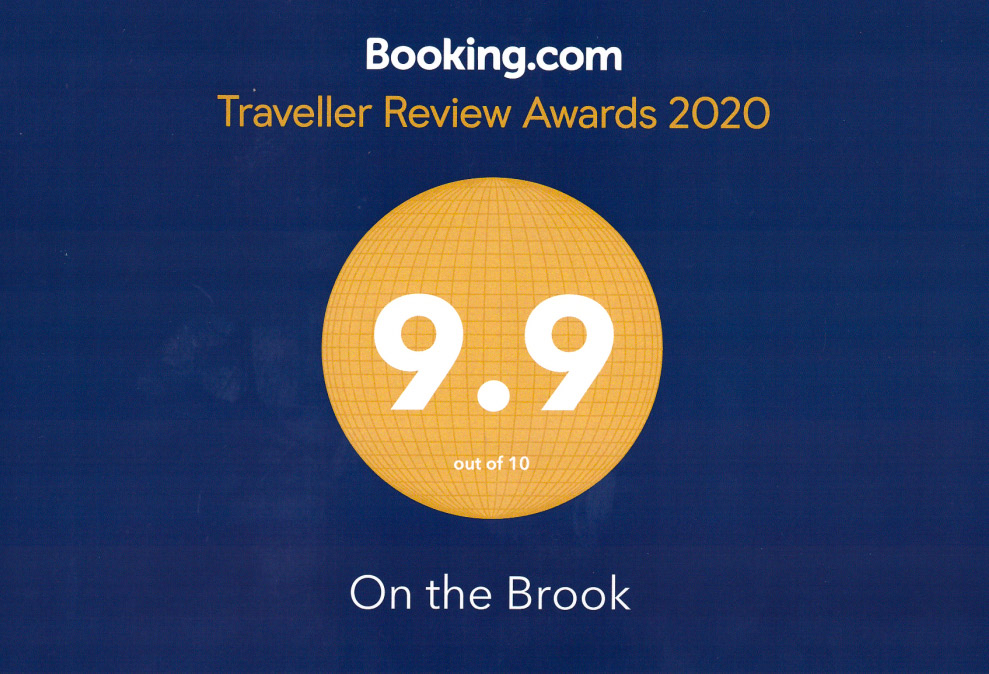 On The Brook Booking.com 9.9 Award